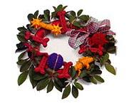 Dog Wreath Collar