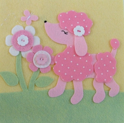 pink-poodle-wall-art
